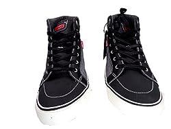 Levis Ashbury Denim Sneakers Black/Reverse 9.5 D(M) US