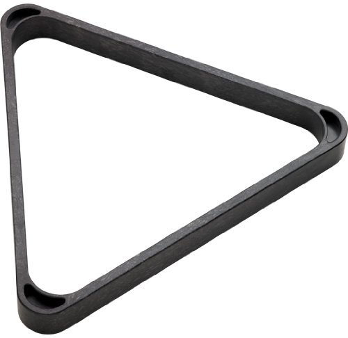 Heavy Duty Plastic 8-Ball Triangle Rack by CueStix International -