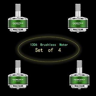 Aokfly 4pcs RV1306 4100KV Brushless Motor for QAV130 QAV180 FPV Racing Quadcopter