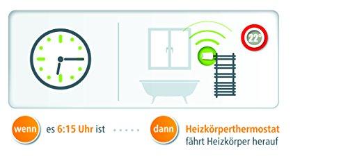 Devolo Home Control Heizkörperthermostat weiß (Heizungssteuerung Smart Home per iOS/Android App, Smart-Home Aktor, Z-Wave, leise, einfache Installation, komfort, Sensor) - 7
