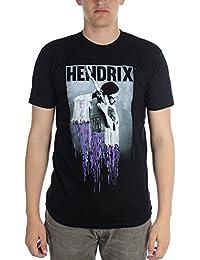 Jimi Hendrix - - Pixel Drip T-shirt pour hommes