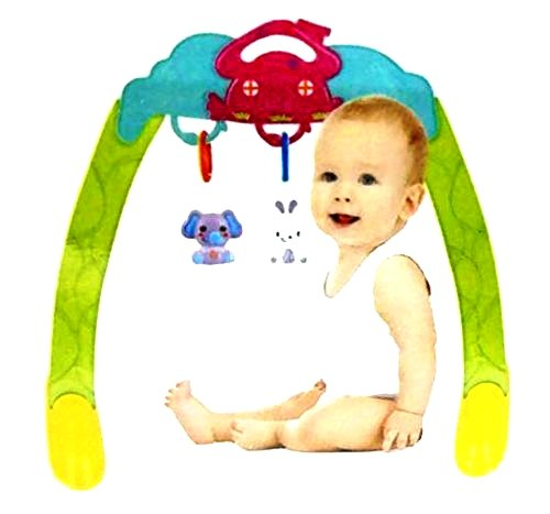 Olly Polly kids imported high quality Baby gym mat play activity Portable Body Building Frame - Gift Toy