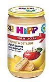 Hipp Frucht & Getreide nach dem 4.Monat, Apfel-Banane mit Babykeks, DE-ÖKO-037, Art.Nr. 4900-01 - VE 250g