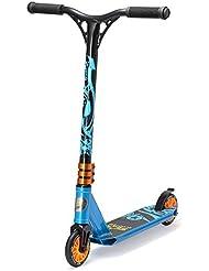 STAR-SCOOTER® Premium Freestyle MINI Stuntscooter für coole Kids ab 5 Jahren ★ 110mm Mini Edition ★ Action Blau