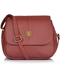 Fostelo Rosetta Women's Handbag (Maroon)