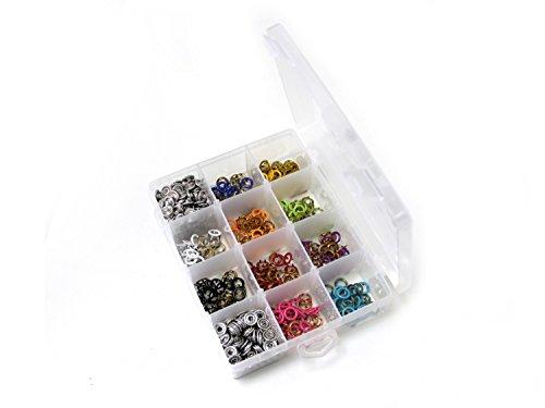 Stoffe Werning Jersey Druckknopf Set mit 150 Druckknöpfen in 10 Farben