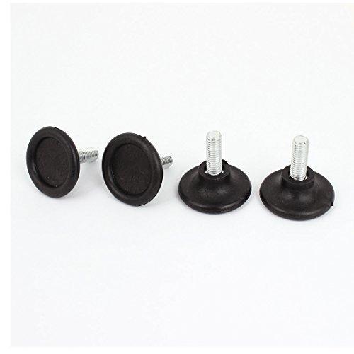 Hoch Tabelle (Kabinett Tabelle 35mm hoch 8mm Verstellbare Gewinde Sofa Glide Beine 4 PC, Modell:, Tools & Baumarkt)