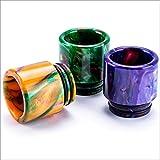 VipVape 810 Drip Tip Mehrfarbig, Driptip aus Resin Harz Material, 810er Drip Tip Farbverlauf Muster