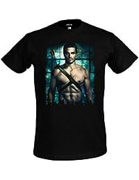 Arrow T-Shirt mit Oliver Queen Elbenwald schwarz