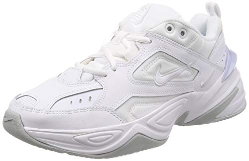 Nike Herren M2k Tekno Laufschuhe, Weiß White/Pure Platinum 101, 42 EU