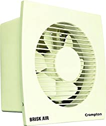 Crompton Brisk Air 6-inch Fresh Air Exhaust Fan (Ivory)