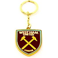 West Ham United WHUFC Football Club Badge Metal Fob Keyring Keychain  Official 1ee7314cbe94