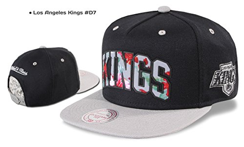 Mitchell & Ness Casquette Snapback Chicago Bulls, Valentine Nets ,Los Angeles Kings, Miami Heat, Warriors etc. Los Angeles Kings #D7