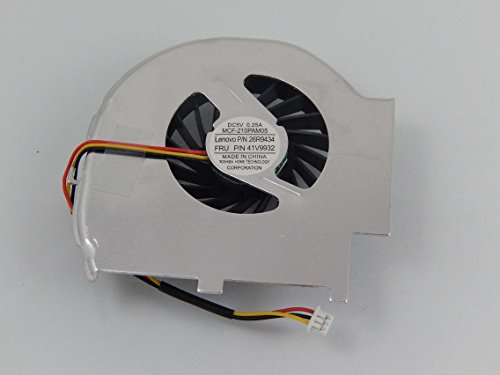 vhbw CPU/GPU Lüfter für Notebook, Laptop IBM/Lenovo Thinkpad T60, T60p Wie 41V9932, 26R9434, 41W6407 (Notebook-cpu-lüfter)