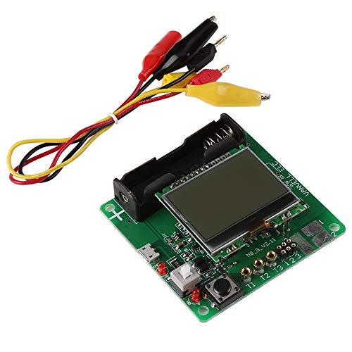 ARCELI Misuratore di induttanza a Transistor LCD MG328 Tester Multifunzione a induzione ESR (misuratore ESR)