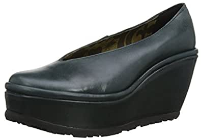 Fly London Womens Pazz Rug Court Shoes P500418016 Diesel 2.5 UK, 35 EU