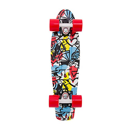 """Cruiser Complete Penny Skateboards Weird Reality 22\"""" Comic Fusion Complete"""