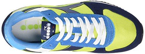 Diadora Unisex-Erwachsene Malone Trainingsschuhe Multicolore (C6015 Verde Acido/Blu Estate)
