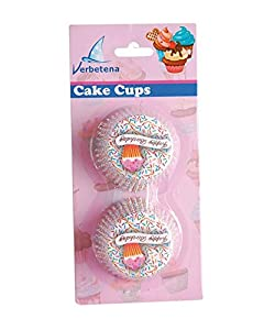 Verbetena - 48 capsulas para cakes happy birthday (011050005)