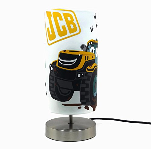 JCB Digger Lamp Lampshade Lamps Boys Bedroom Nursery Accessories Night Light Gifts