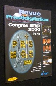 Revue de la prestidigitation, n° 519, septembre-octobre 2000 : Congrès Afap 2000, Paris par Collectif