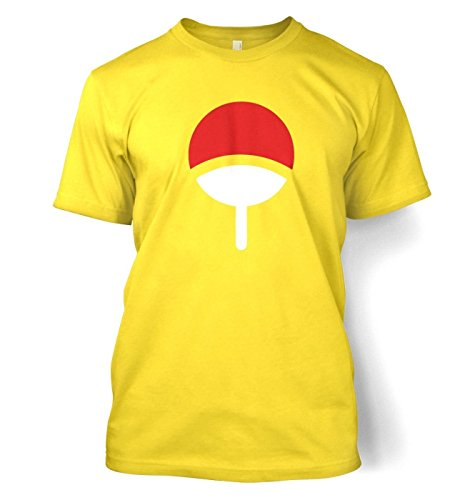 Uchiha Family Männer T-Shirt Daisy Yellow