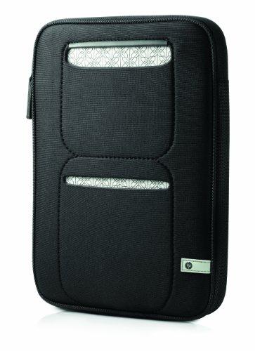 HP Mini 210 Sleeve Notebooktasche 25,9 cm (10,2 Zoll) schwarz-silber