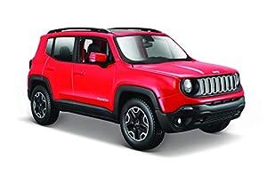 Maisto 531282 Coche Modelo Jeep Renegade Escala 1:24