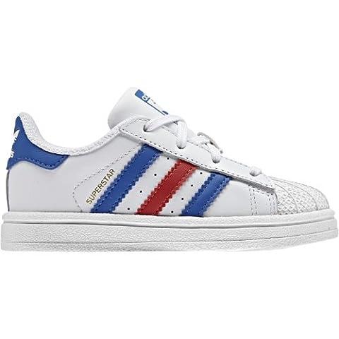 adidas Superstar Sneaker Kleinkinder 4K UK - 20 EU