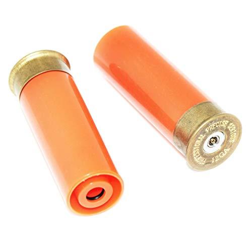 Airsoft Softair 2pcs Gas Shell für M870 Pumpe Action Schrotflinte Orange -