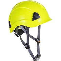 Portwest PS53 - PW Altura Resistencia del casco, color Amarillo