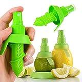 Offershop 2 Stück Sprühflasche Aromatisator Sprayer Sprüher Zitronenpresse Zitruspresse Zitrusfrüchte Zitrone