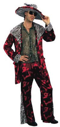 Big Daddy Fancy Dress Costume (Red) -