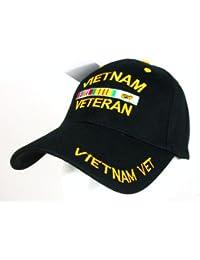 U.S Army - Casquette Vietnam Veteran cap - Motifs brodes - Couleur Noir