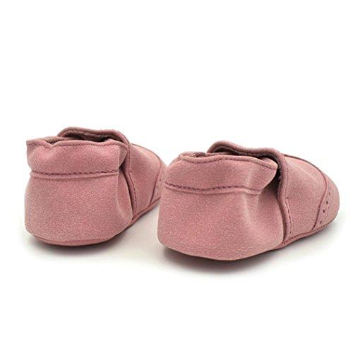 Clode® Kleinkind Baby Jungen Mädchen Neugeborene beschuht weiche Säuglinge weiche Nubuck Schuhe Rosa