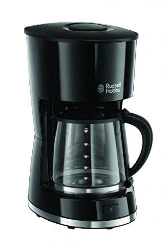 Russell Hobbs Mode freistehend–Kaffeemaschine (freistehend, Filter-Kaffeemaschine, 1,5l, gemahlener Kaffee, schwarz)