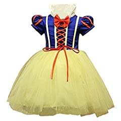 Idea Regalo - Girl's Girls - Costume Halloween Carnevale Cosplay Biancaneve