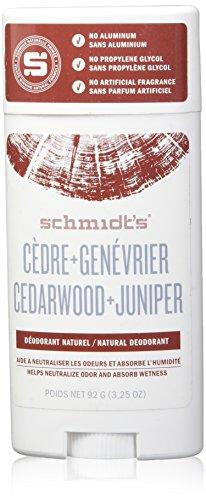 Schmidt \'s Deodorant Stick, Zedernholz + Wacholder, 3,25Unze