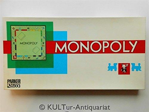 MONOPOLY - das berühmte Gesellschaftsspiel, PARKER 601 1009