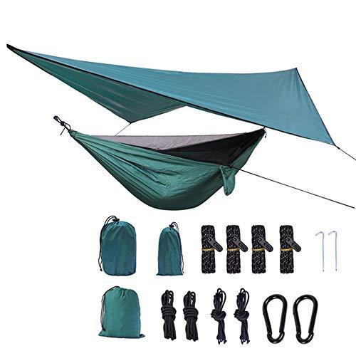 AFFC Camping Hängematten enthalten Moskitonetze - tragbare Indoor-Outdoor-Leben und Reisen, Wandern, Hof, Strand, Reisen.