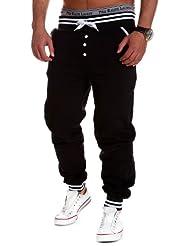 MT Styles - MT-53 - Pantalon boutonné de sport/jogging