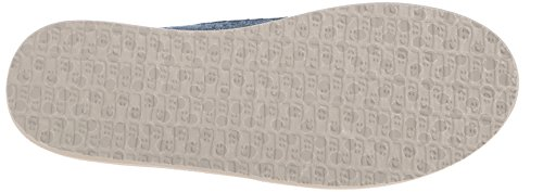 Sanuk Womens Shorty TX Flat Slate Blue Chambray