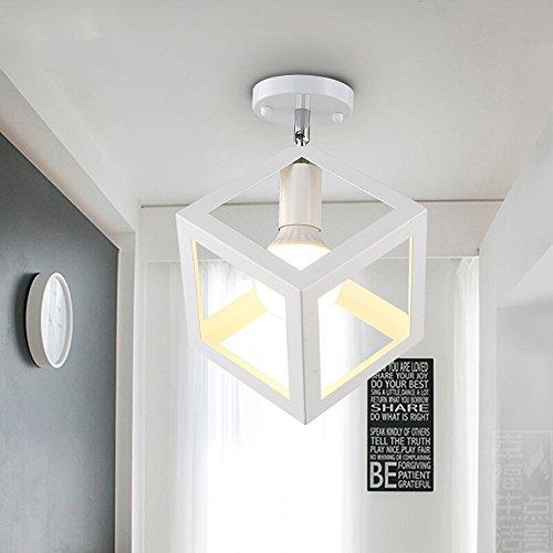 Lampada a sospensione per illuminazione a soffitto del soffitto del soffitto del soffitto del soffitto del soffitto del metallo di edison mini per stanza da salotto / camera da letto / sala da pranzo / cucina / bagno lampadario ( color : white 2 )