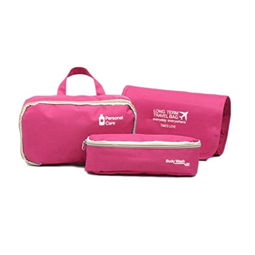 OW-Travel ,  Kulturtasche rosa rose 1 Packung