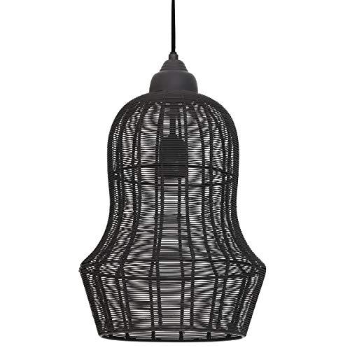 Light & Living Meia, Pendelleuchte mit E27-fassung, 40W, Hängeleuchte aus Metall, in der Höhe verstellbar, 27 cm * 27 cm * 42 cm, [Energieklasse A+]