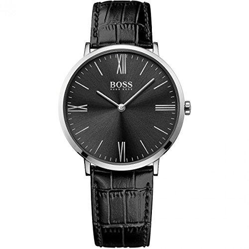 Hugo Boss Jackson 1513369Noir/cuir noir Quartz Analogique montre pour homme par Hugo Boss