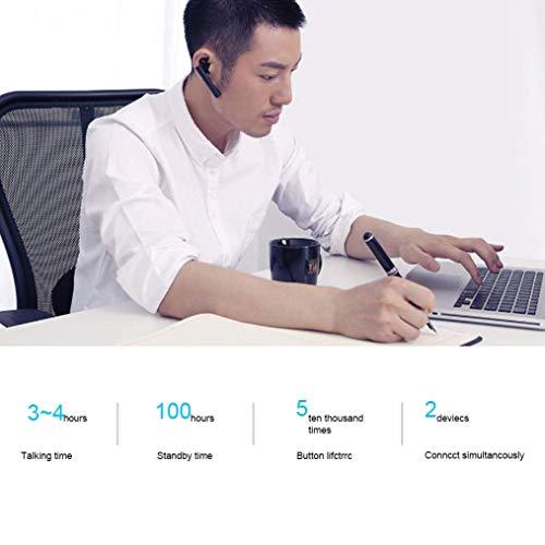 Xiaomi Bluetooth Kopfhörer, Bluetooth 4.1 Freisprech-Headset Bluetooth Headset, Mi Bluetooth Headsets für Smartphones Jugendversion (schwarz) - 6
