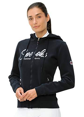 SPOOKS Damen Sweatjacke, Kapuzen-Jacke Mädchen Kinder Frauen - Lina Jacket - Navy m