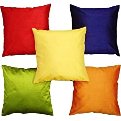 Cushion Covers ( Multi Cushion Cover 16x16 Set of 5)
