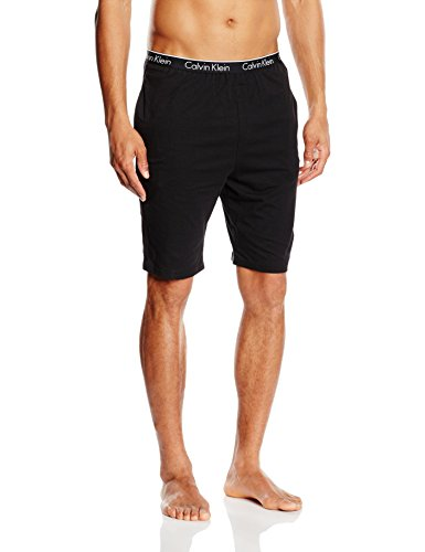 Calvin Klein Herren Sport Shorts 000NM1226E, Gr. Large, Schwarz (BLACK 001) (Pjs Loungewear)
